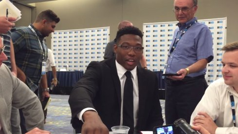 Linebacker Joshua Perry says he thinks the Cardale Jones–Tyvis Powell paternity suit is headed to Maury.