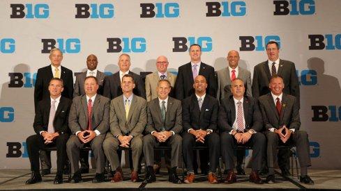 The 14 Big Ten football coaches for the 2015 season.