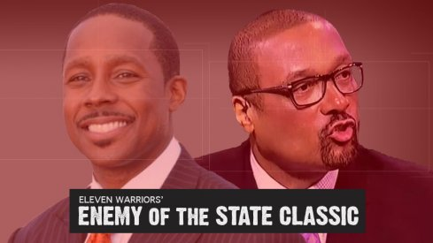 The Media region in Eleven Warriors' Enemy of the State Classic
