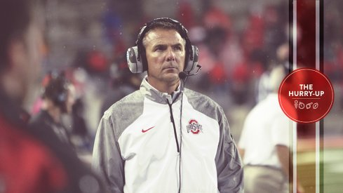 Urban Meyer during Ohio State's 2014 win against Rutgers