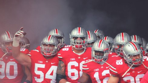 The 2015 Ohio State Buckeyes are out to defend a title.