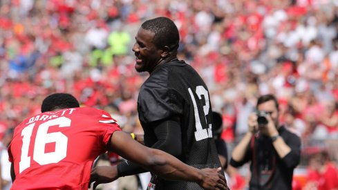 J.T. Barrett and Cardale Jones will battle for Ohio State's starting quarterback job.