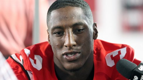 Michael Thomas at Ohio State's Media Day