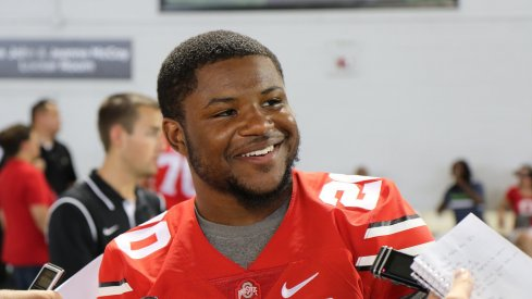 Mike Weber is quickly becoming known as 'Baby 'Los' among his Ohio State teammates.