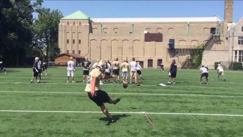 2017 Ohio State commit Blake Haubeil nails 61-yard field goal.