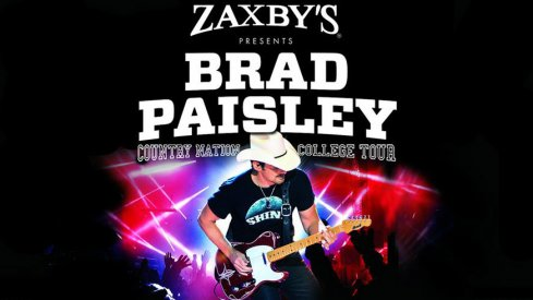 Country star Brad Paisley will play Virginia Tech on Sunday, Sept. 6