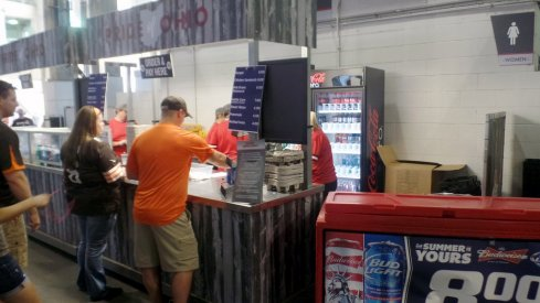 Beer and wine are set to be available to patrons at club levels and in suites this fall at Ohio Stadium.
