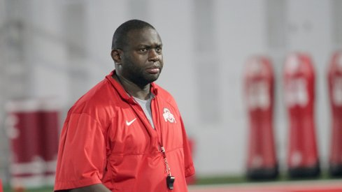 Tony Alford is entering is first season as Ohio State's running backs coach.