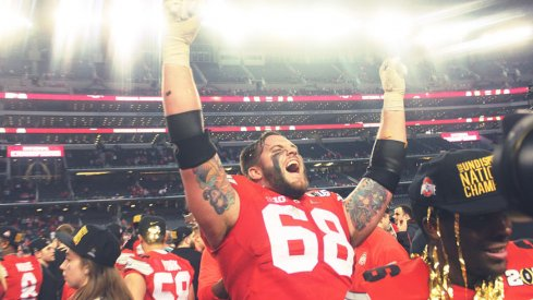Taylor Decker feels Ohio State's unanimous No. 1 ranking.