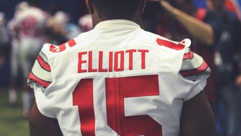 Ezekiel Elliott filed for three trademarks this month.