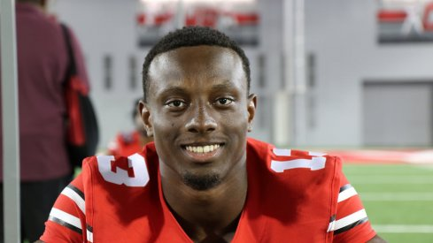 Eli Apple said he's more confident than ever he can be the top corner at Ohio State for 2015.