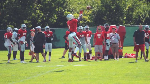 Urban Meyer said Monday that Braxton Miller is nearly ready to go a wide receiver.