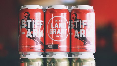 Land-Grant Brewing's Stiff Arm IPA will be found at Ohio Stadium this year.