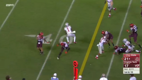 Braxton Miller spin move