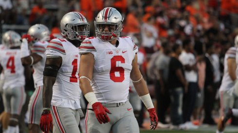Sam Hubbard filled in for Joey Bosa smoothly against Virginia Tech Monday.