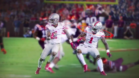 Braxton Miller, unleashing the Silencer.
