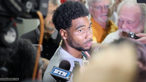 Braxton Miller talks about his spin move from the Virginia Tech game.