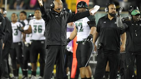 Norm Chow leads Hawai'i the Ohio Stadium Saturday for a date with No. 1 Ohio State.