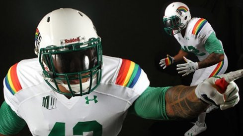 Hawai'i to wear new road alternate uniforms Saturday at Ohio Stadium.