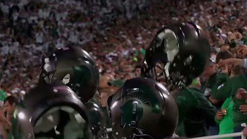 Michigan State's alternate helmets
