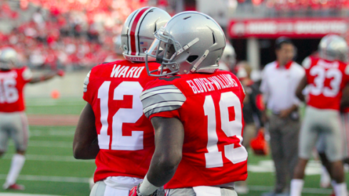 Denzel Ward and Eric Glover-Williams