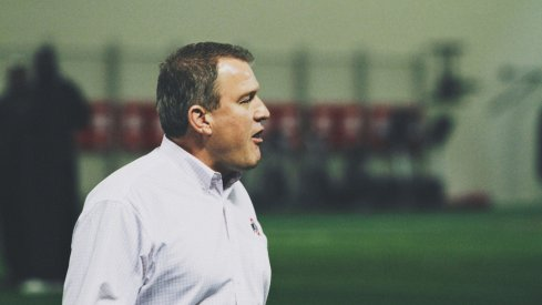 Ohio State's Ed Warinner will make $600,000 as a base salary in 2015-16.