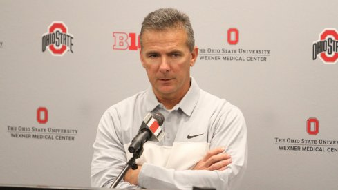Urban Meyer provides updates after Ohio State's practice Wednesday.