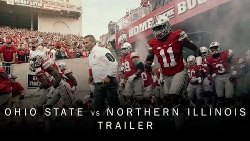 Ohio State vs. Northern Illinois trailer