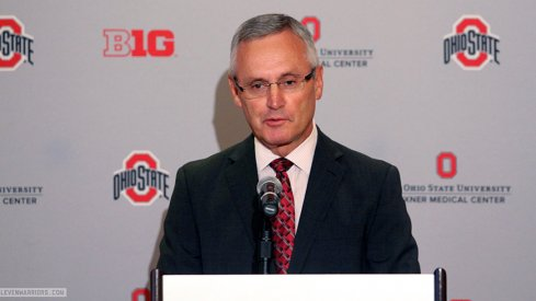 Jim Tressel headlines a class of 14 in the 2015 Ohio State athletics Hall of Fame.