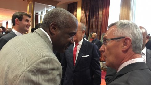 Gene Smith and Jim Tressel once spoke about the former coach's eventual exit from Ohio State.