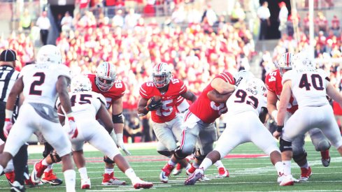 Your Ohio State-Northern Illinois quotebook.