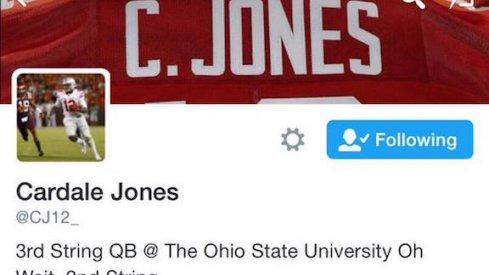Cardale Jones' Twitter
