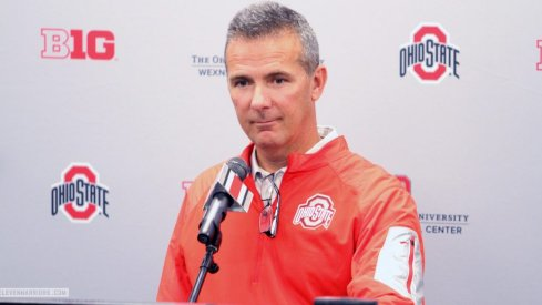 Urban Meyer met with the media Monday to preview his team's game against Western Michigan.