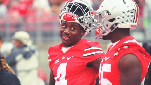 Curtis Samuel takes the injured Parris Campbell's spot on Ohio State's latest depth chart.