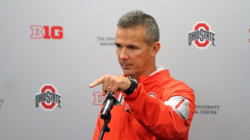 Urban Meyer at his press conference.