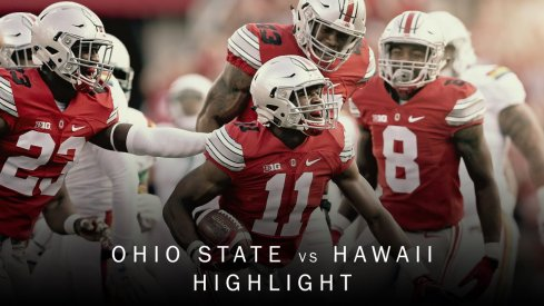 Ohio State-Hawai'i highlights from the Buckeye video production team.