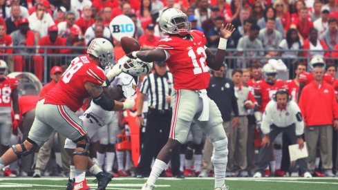 Cardale Jones generally looked more comfortable but far from perfect against the Broncos.