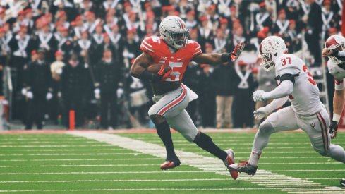 Zeke and the Buckeyes will need to be wary of the Hoosiers on Saturday.