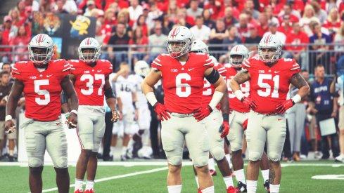 Ohio State's defense against Western Michigan.
