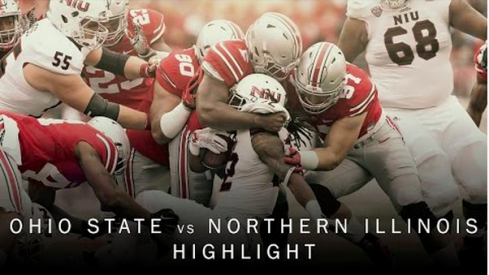 Video highlights from Ohio State's victory against Northern Illinois.