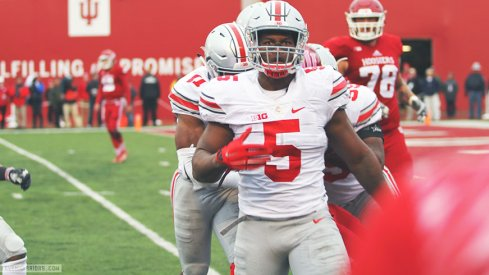 Raekwon McMillan had another big day for the Buckeyes.