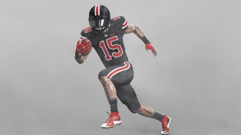 This is the black uniform Ohio State will wear against Penn State