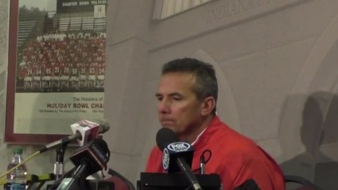 Ohio State talks about its win over Indiana.
