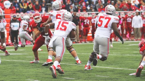 Ezekiel Elliott put Ohio State on his back rushing for 274 yards and three touchdowns.