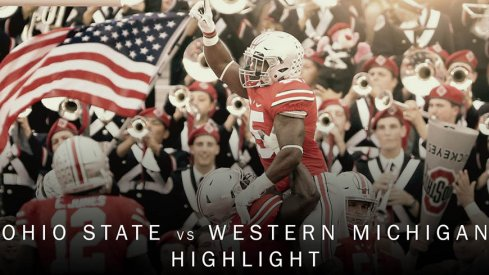 Ohio State video highlights of the team's 38-12 win against Western Michigan.
