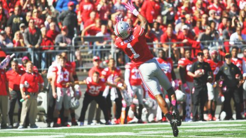Braxton Miller's sick catch was a highlight of Ohio State's 49-28 win over Maryland.