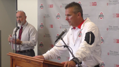 Videos of interviews after Ohio State's win over Maryland.