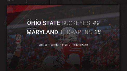 Ohio State –Maryland Header