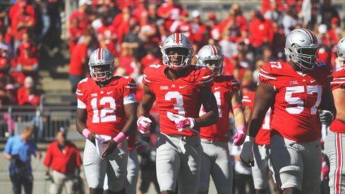 A midway point look at the nation's No. 1 team, Ohio State.