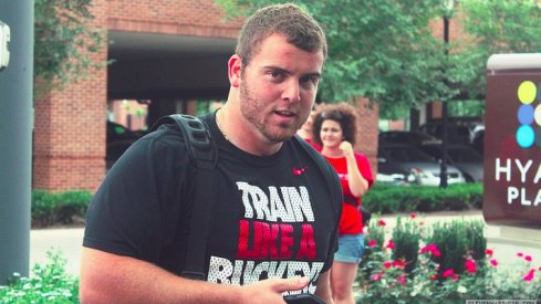 Jacoby Boren powers up for fall camp.